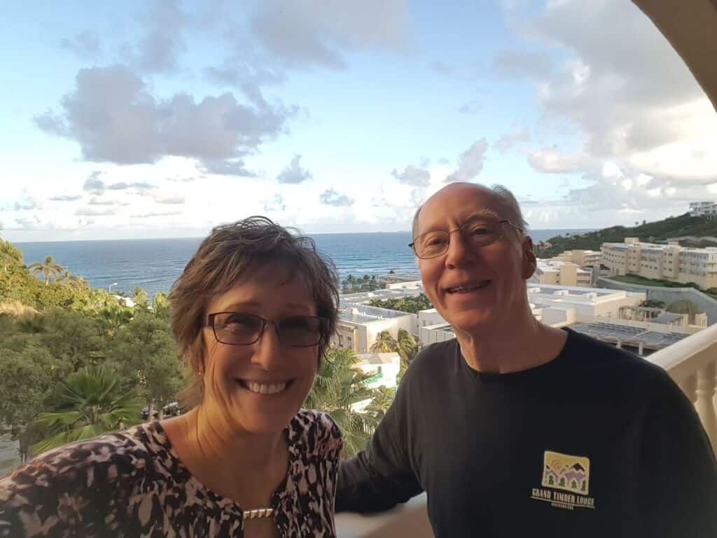 Don and Vicki in St Maarten