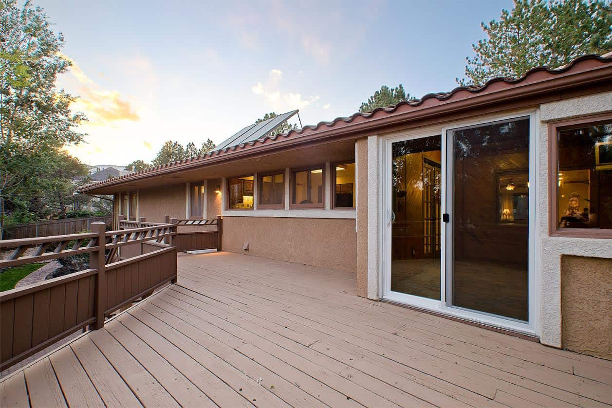 10 – Doors from Sun Room to Deck and Solar