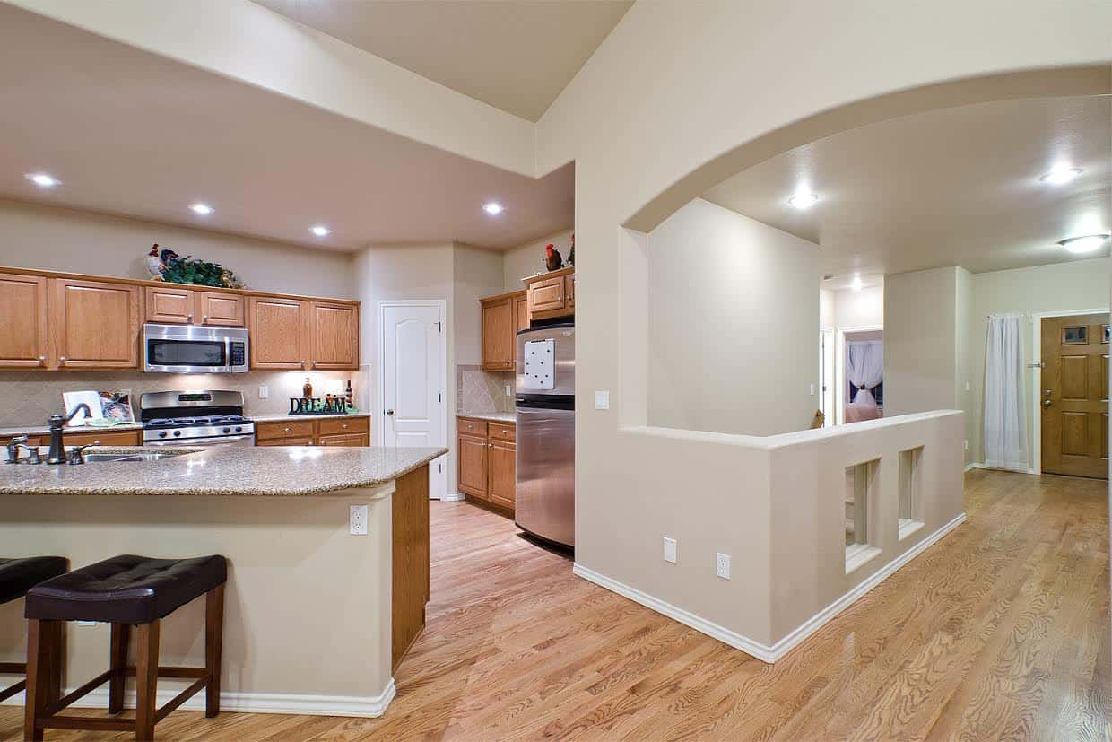 7 – Entry into Kitchen