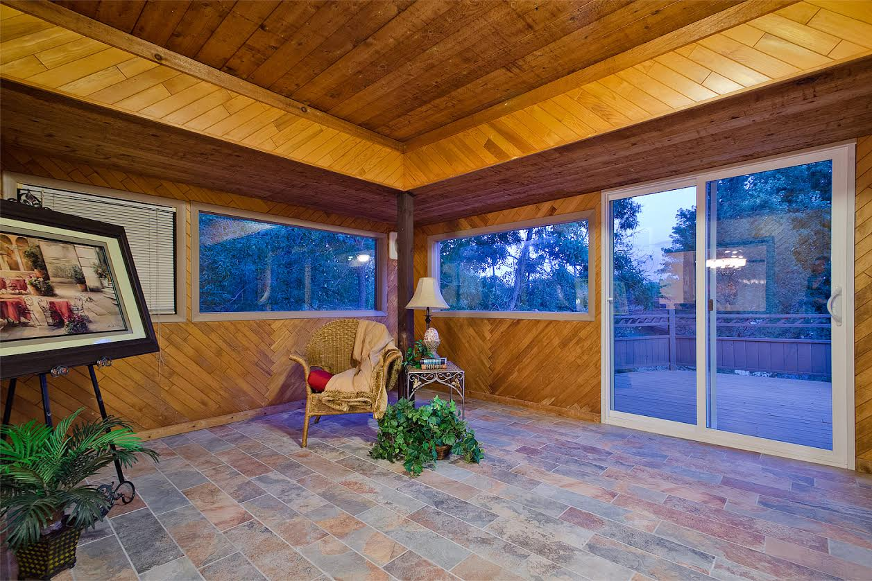 9  – Sun Room out to Deck