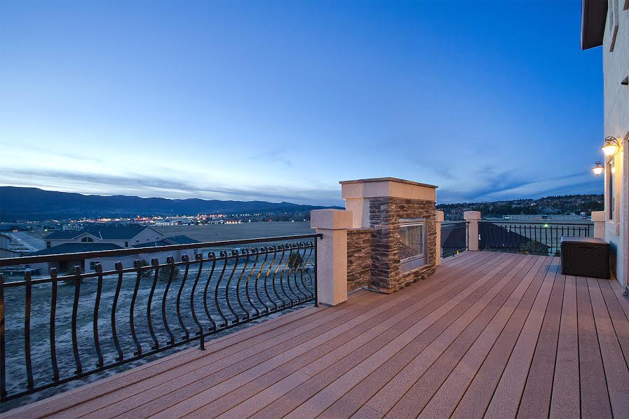 Deck with Views and Fireplace