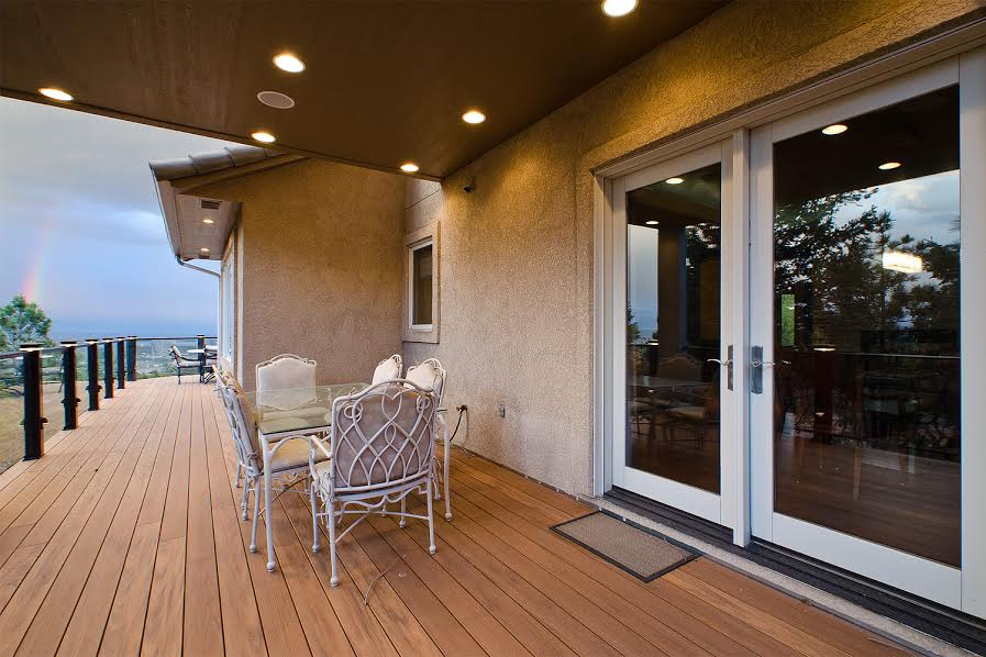 Rear Deck off Dining Room