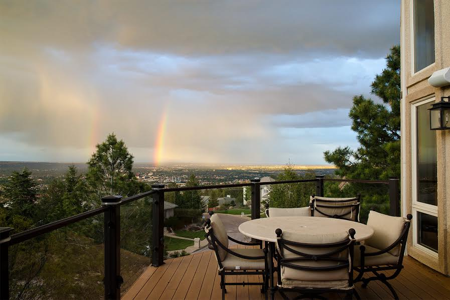 Deck Views and Rainbows