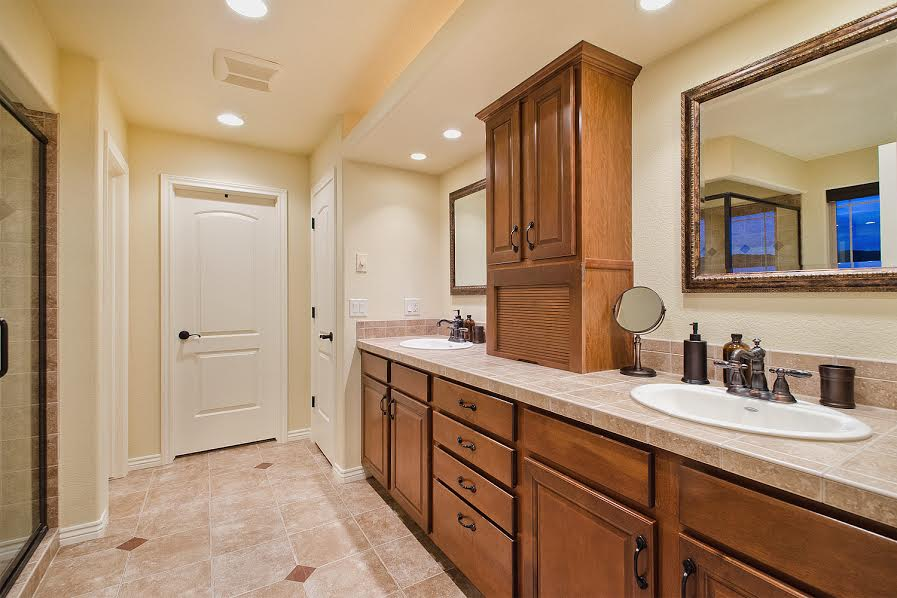 Master Bathroom with Closet