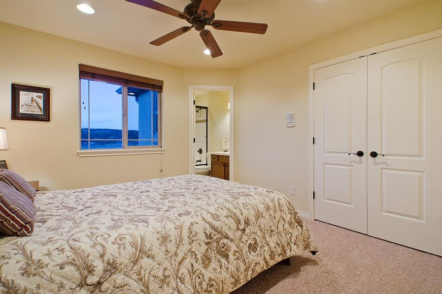 Upper Level Bedroom with Ensuite Bathroom