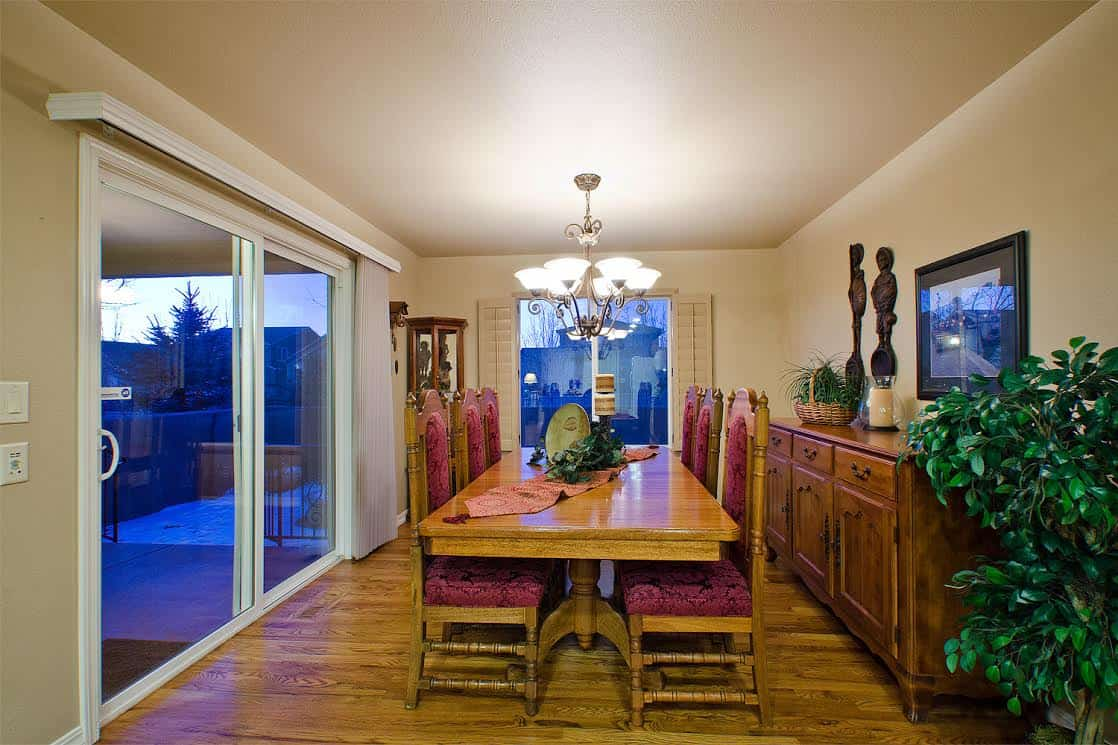 Dining Room off Kitchen and Great Room