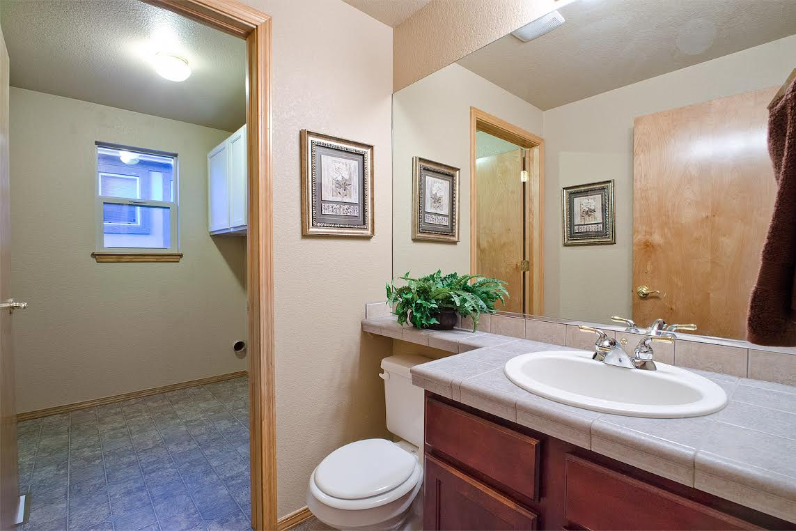 Powder Room and Laundry