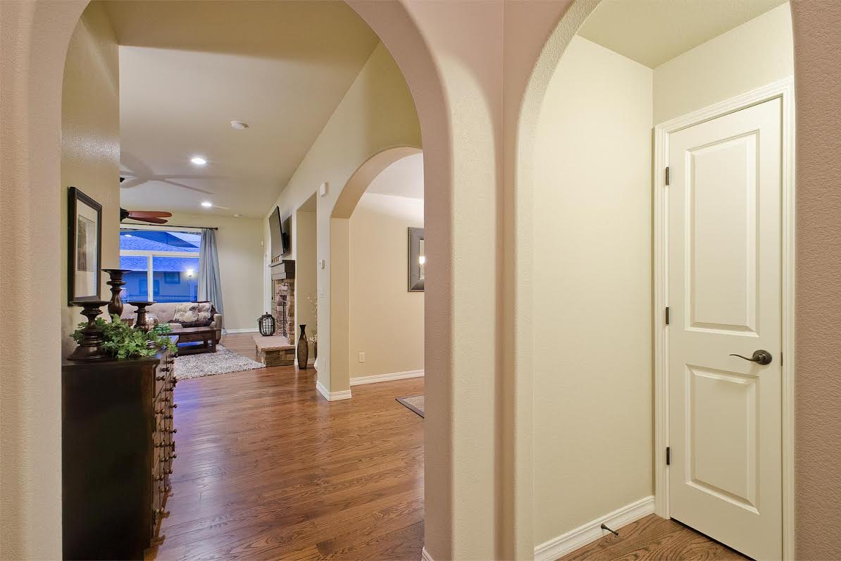 Entry Hall to Front Bedroom and Bath