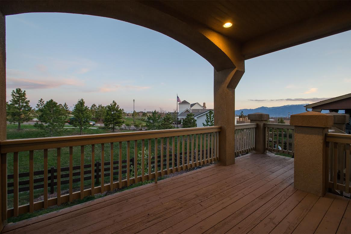 Covered View Deck