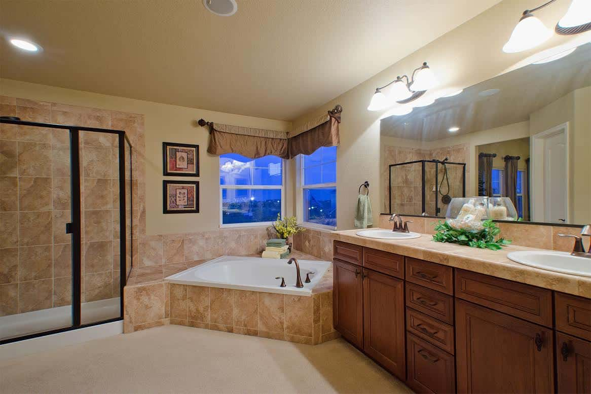 Spa Master Bathroom