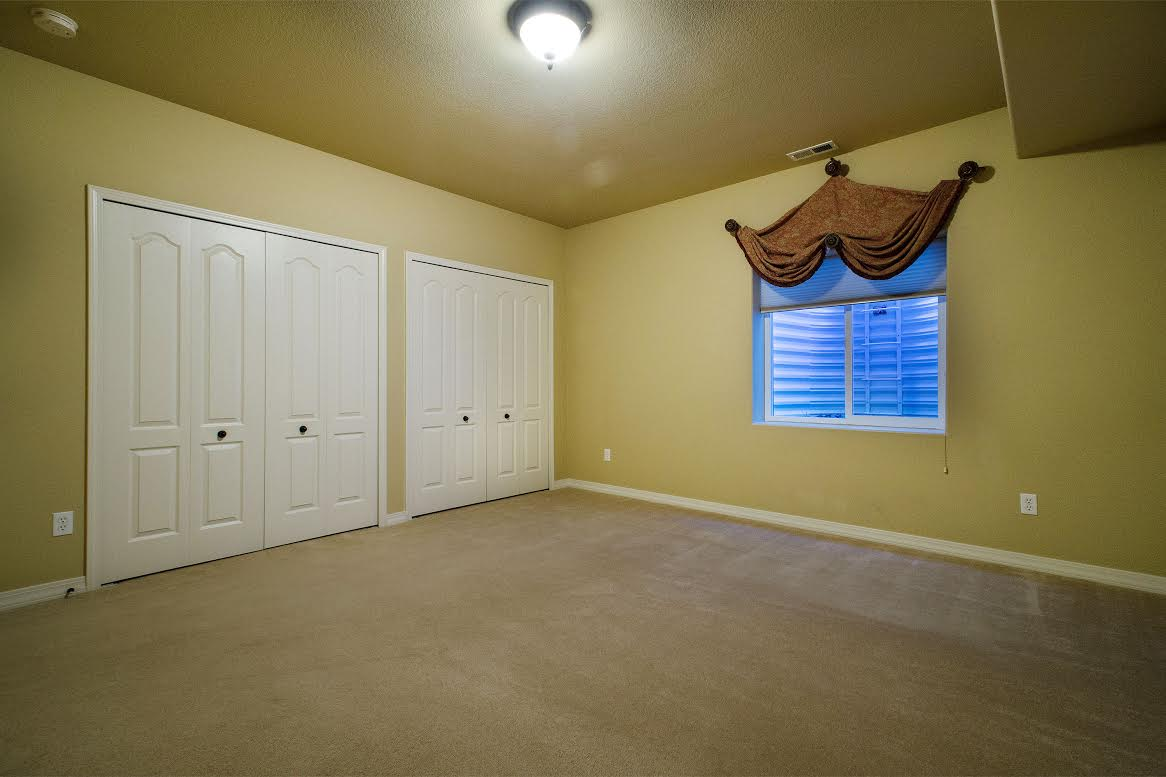 One of 2 Large Basement Bedrooms