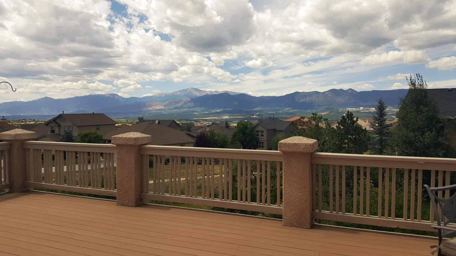 Full Views off Deck