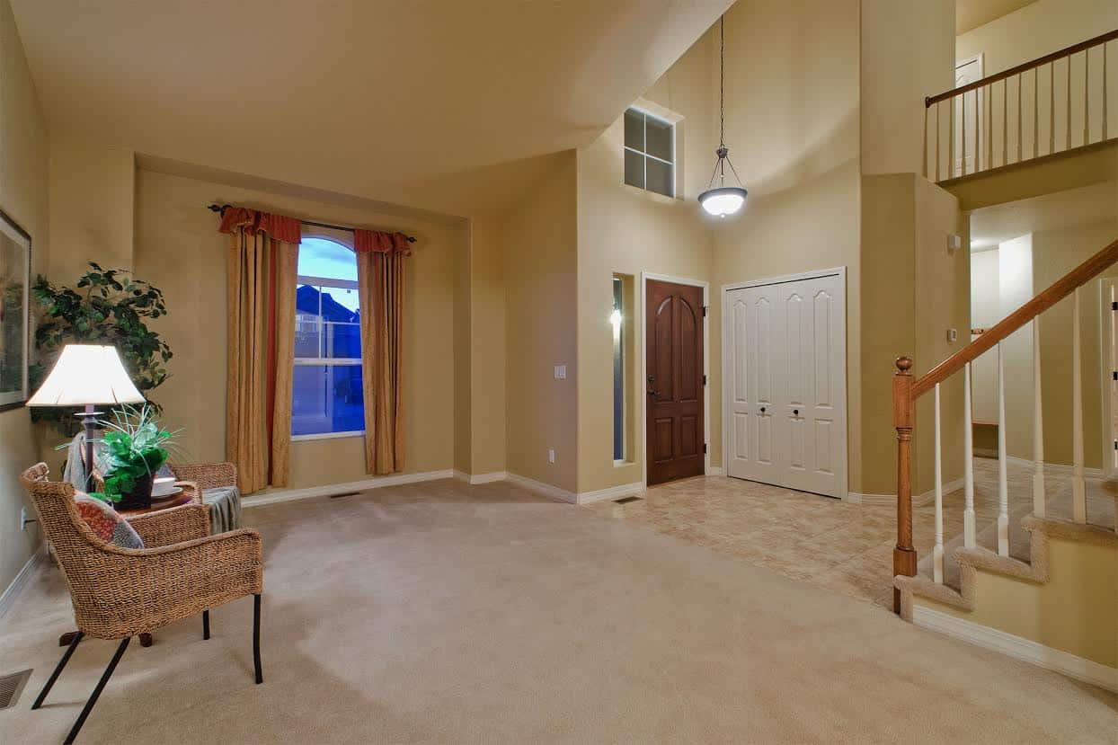 Living Room into Entry