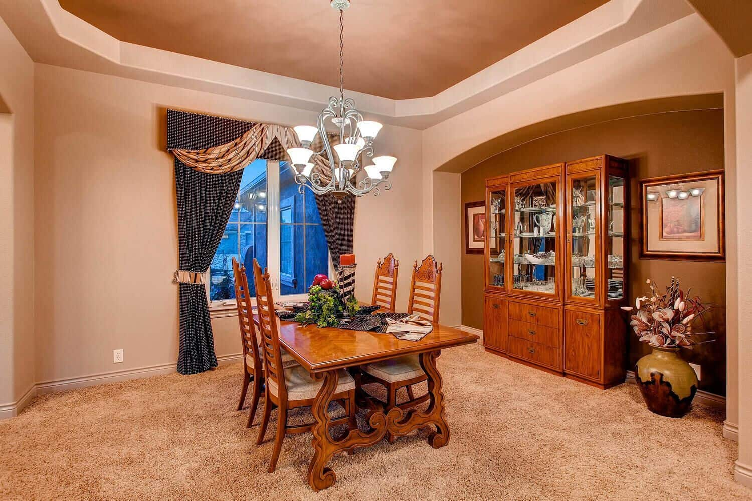 Formal Dining Room off Entry and Kitchen
