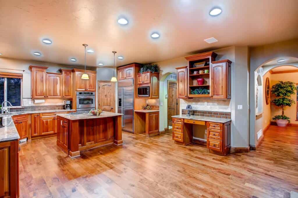 Gourmet Kitchen off Dining Room
