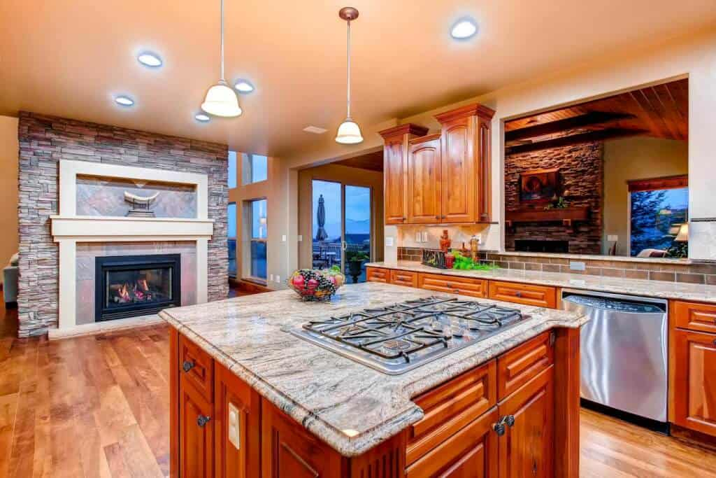 Hearth Room in Kitchen can be Nook