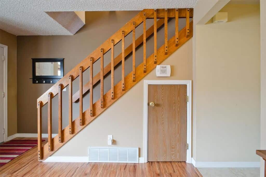Under Stair Storage and Crawl Space