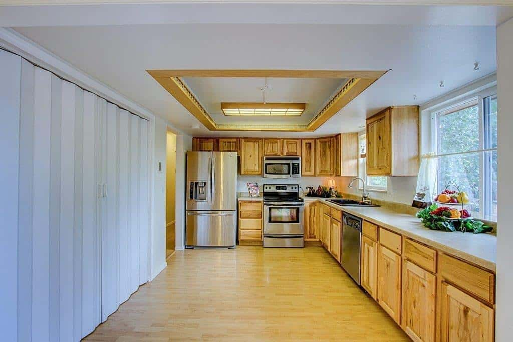 Kitchen with Large Panry