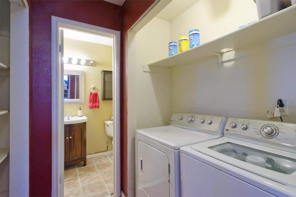 Laundry and Powder Bathroom