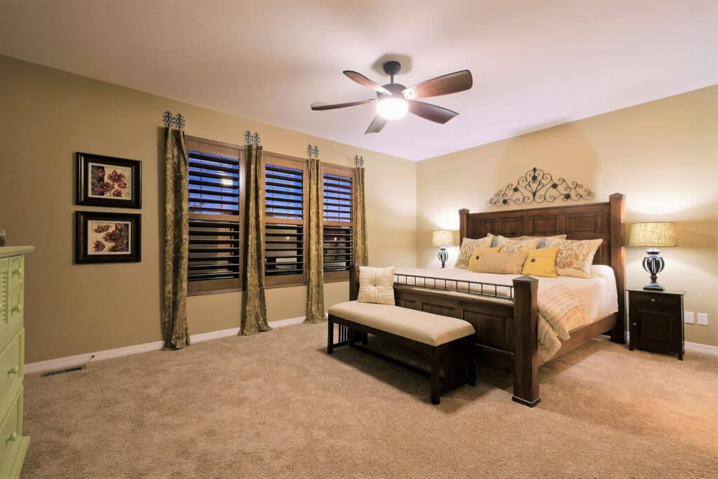 Main Level Master Bedroom