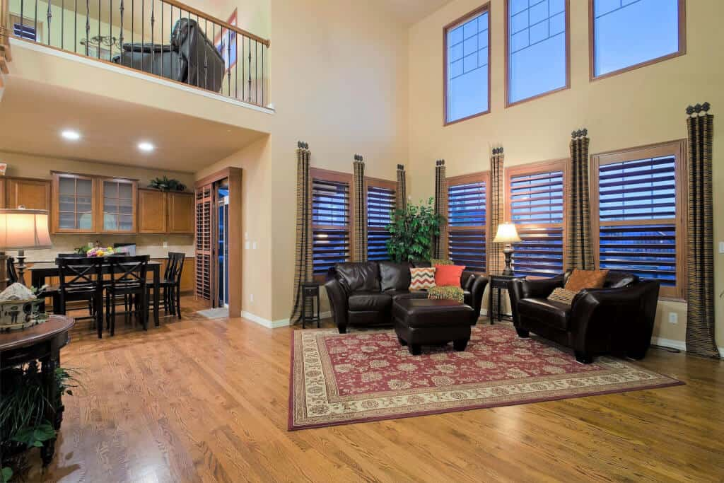 2-Story Great Room off Kitchen and Nook