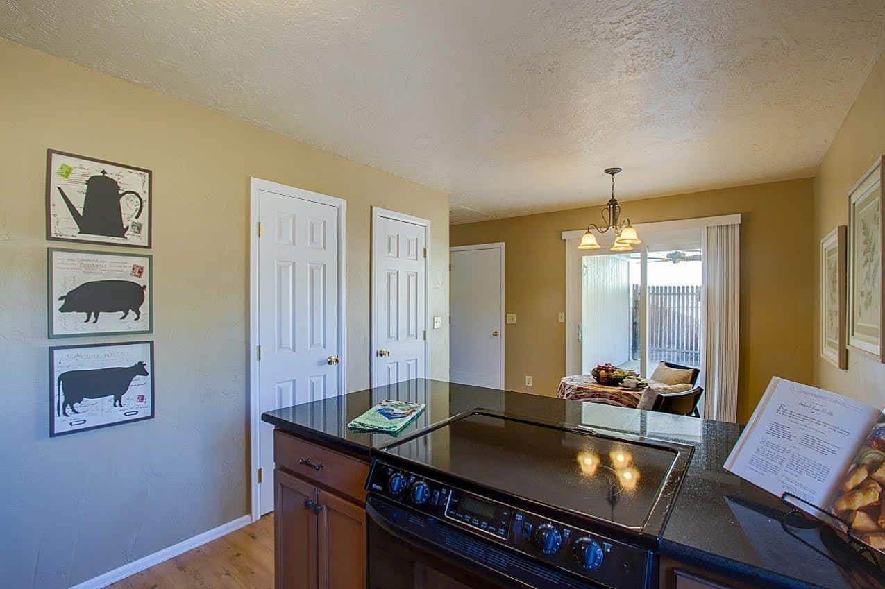 Kitchen overlooking the Dining Area