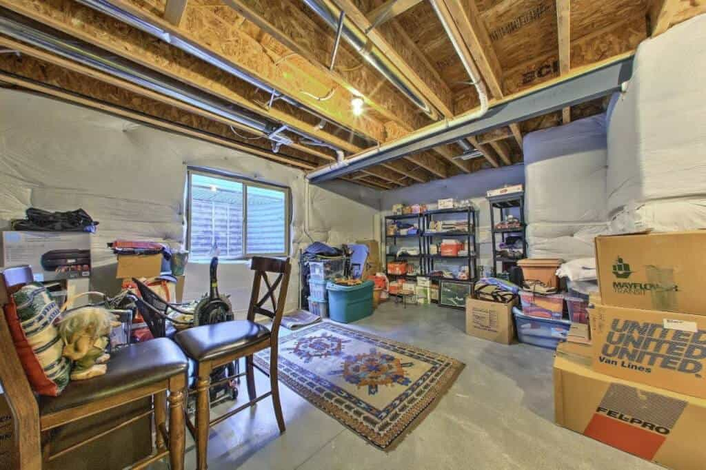Large Basement Storage