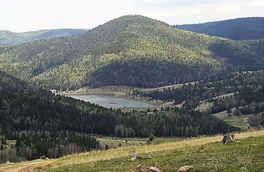 Nearby Bison Lake