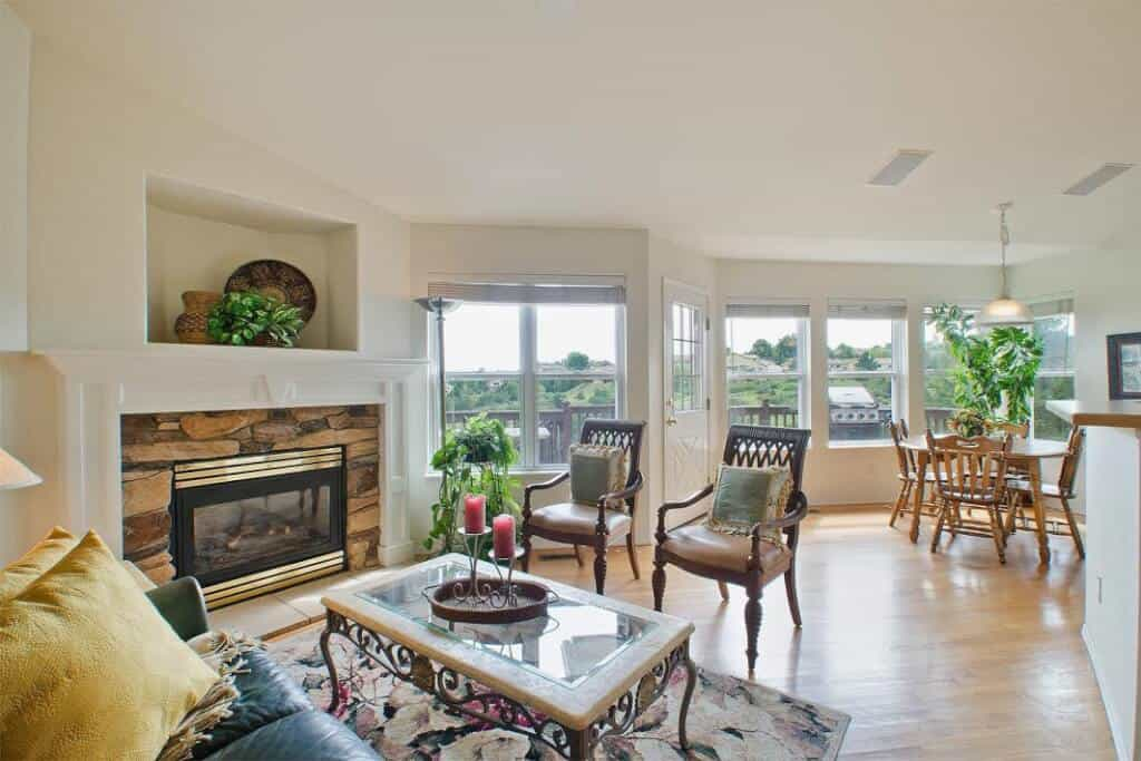 Great Room with Views and Deck