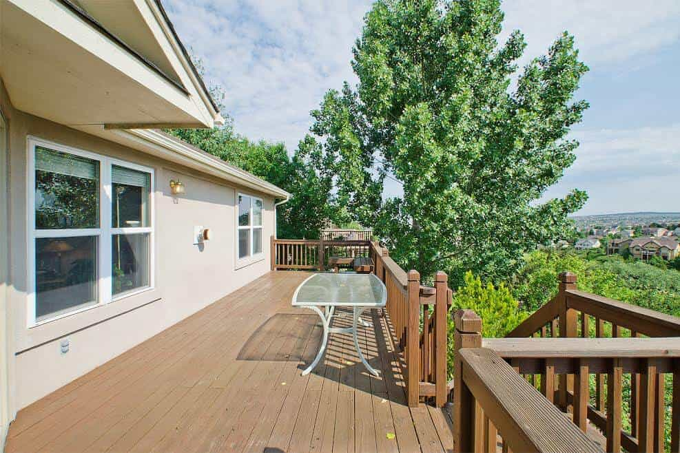 Walkout to Large View Deck