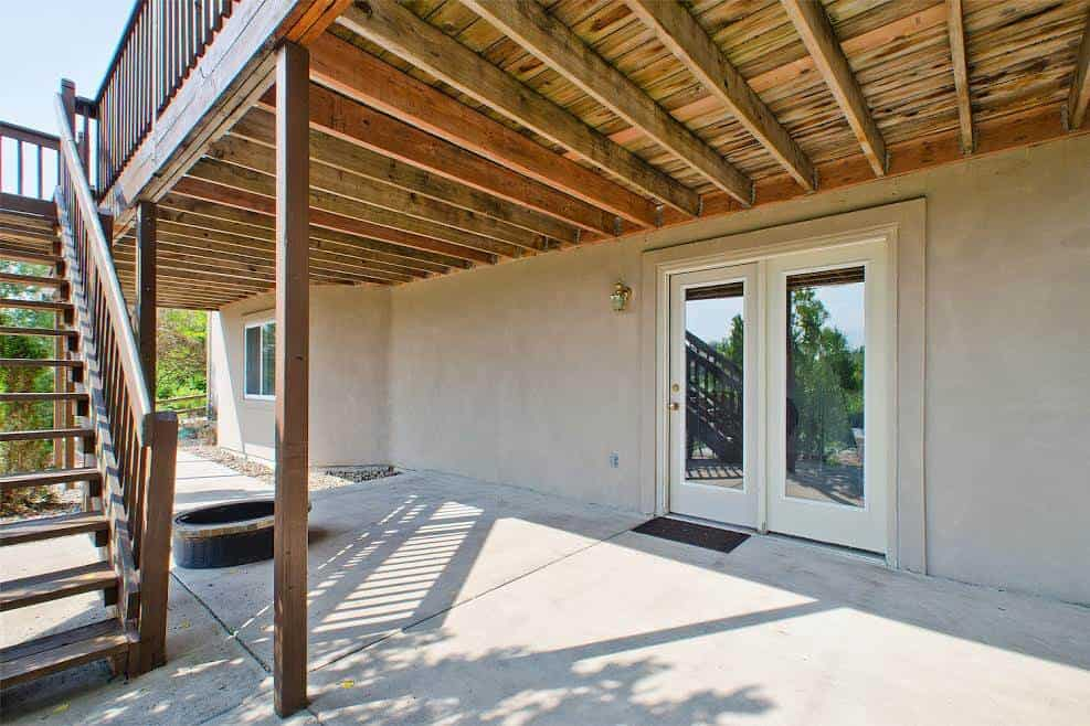 Basement Walk-out to Covered Patio
