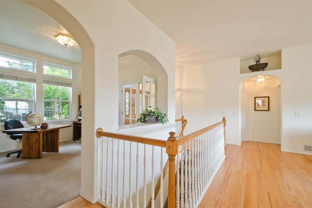 Office, Dining Room and Stairway to Basement