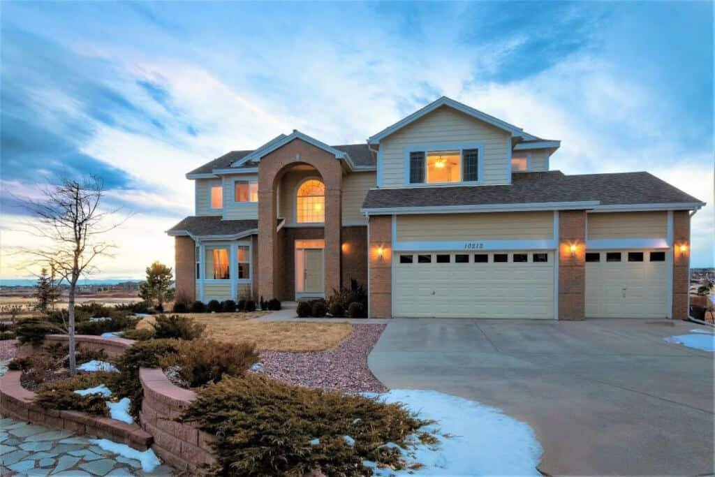 Story Meridian Ranch Home w/Pikes Peak Views