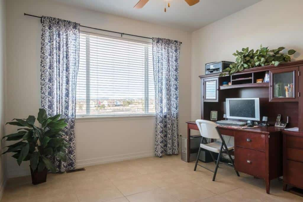 Main Level Bedroom or Office