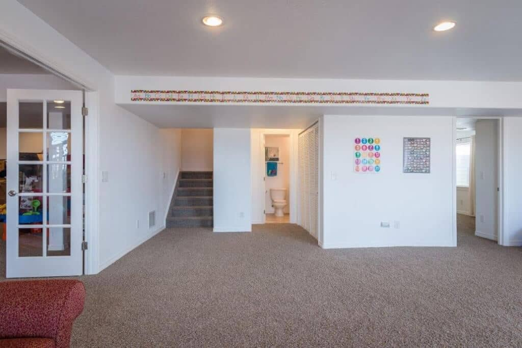 Large Walkout Basement