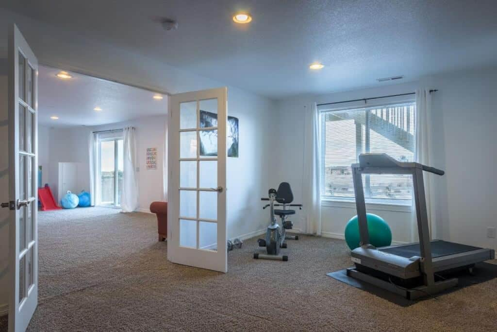 Large Flex Room for Gym or Theater Room