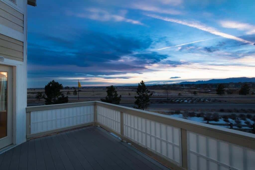 Deck off Nook with Views