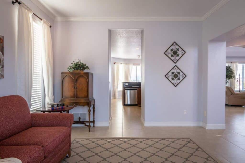 Living Room or Dining Room opens into Kitchen