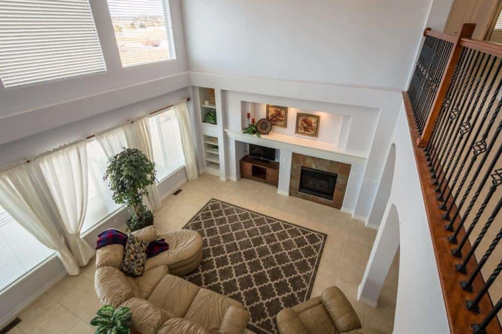 Great Room from Upper Landing