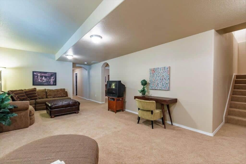 Basement Recreation Room