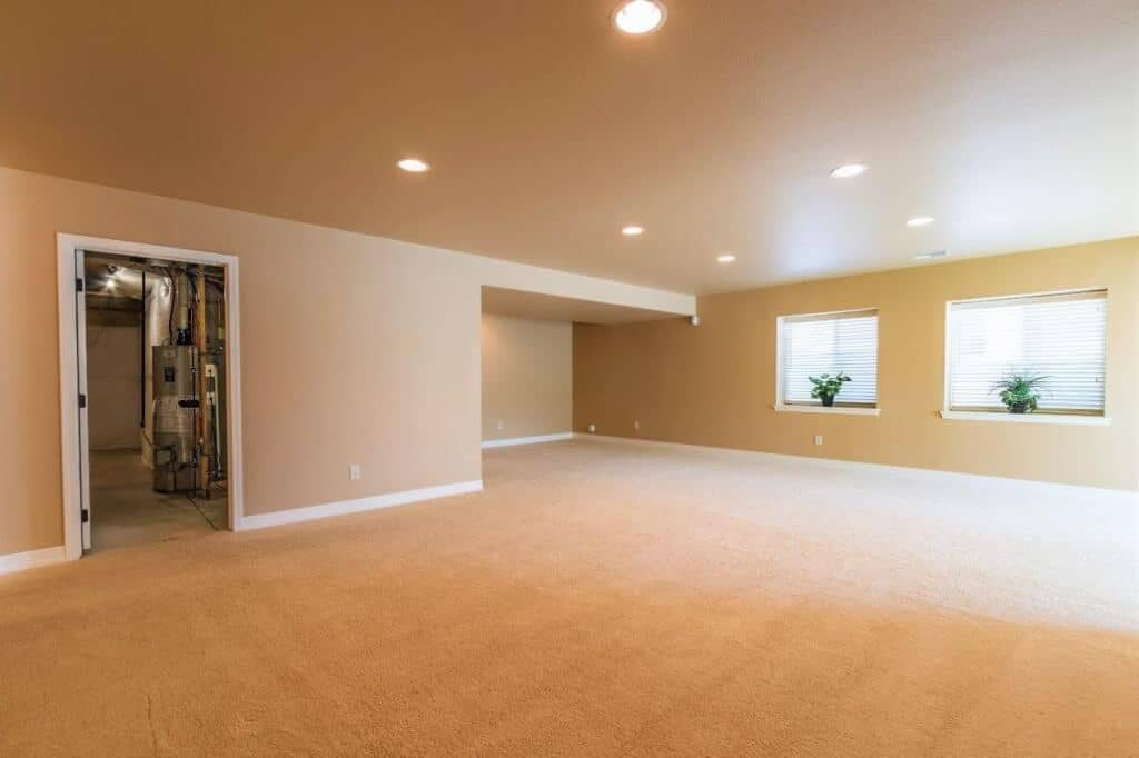 Recreation Room with Storage