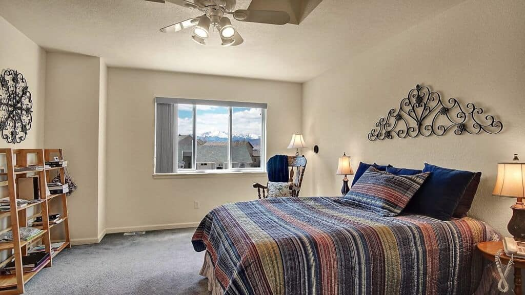 Master Bedroom with Peak Views