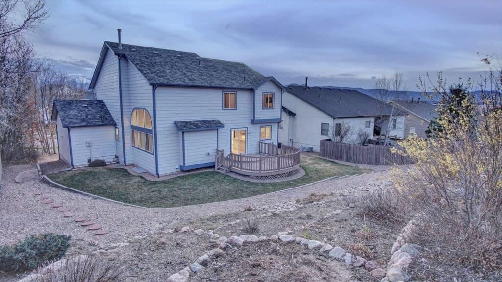 Terraced Backyard and Deck