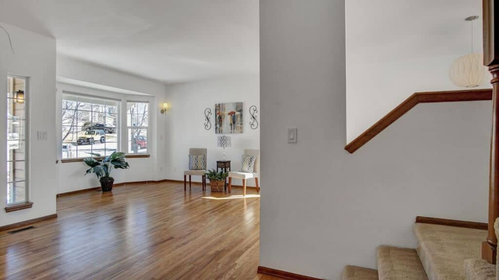 Living Room from Stairway