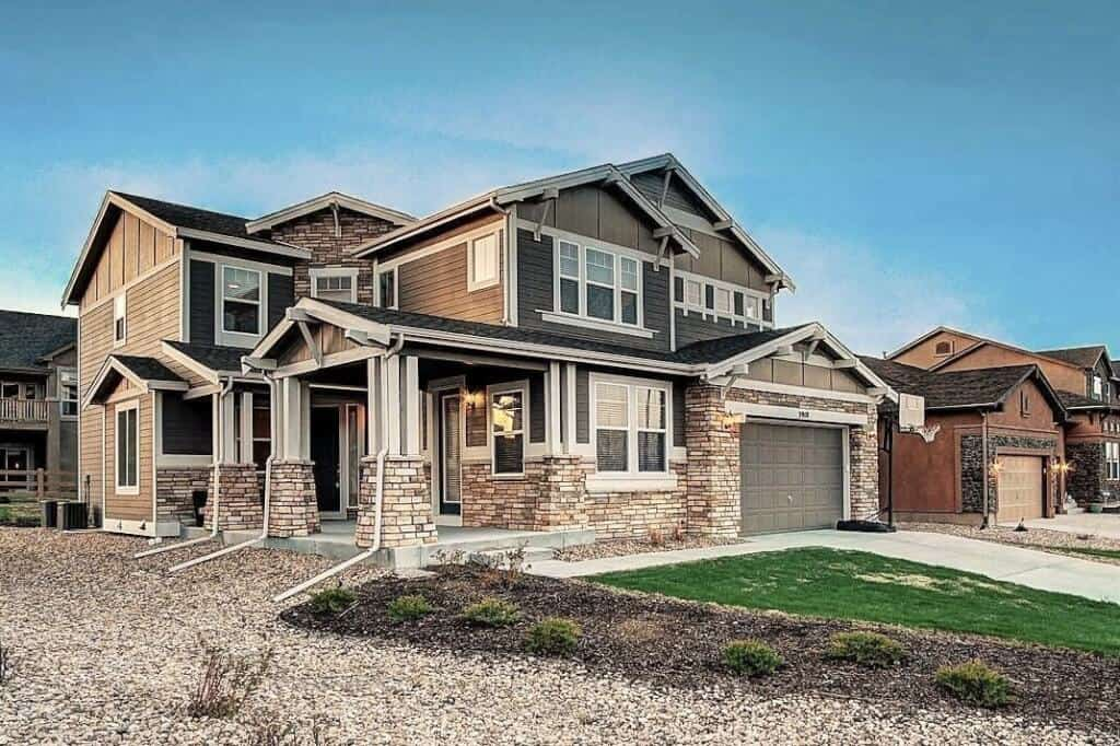 Dramatic Wolf Ranch 2-Story with Private Entrance to Home Office