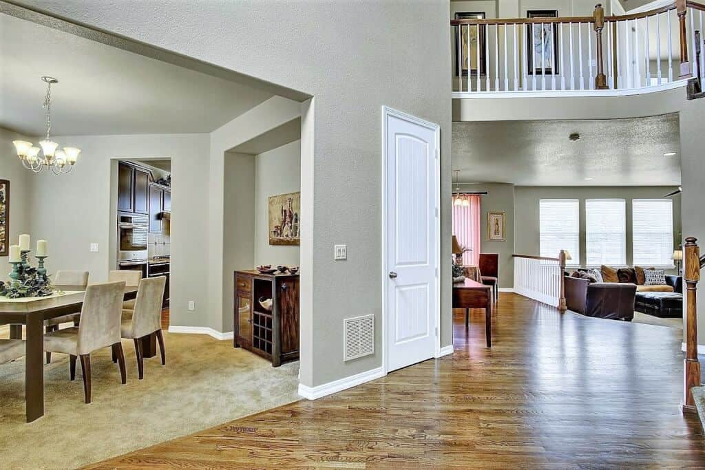 Entry, Dining Room, Great Room