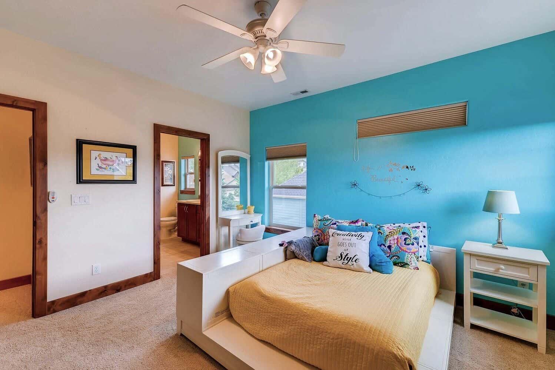 Upper Bedroom 2 off Jack N Jill Bath