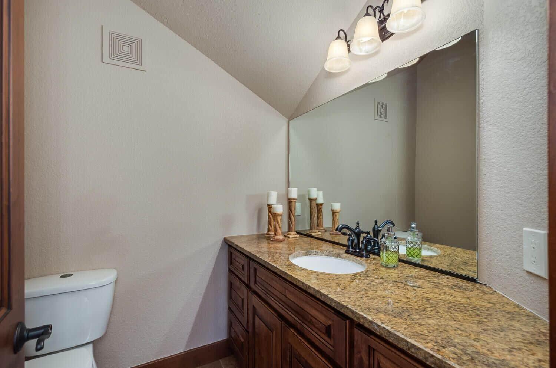 Upper Bedroom 2 with Ensuite Bath and Walkin Shower