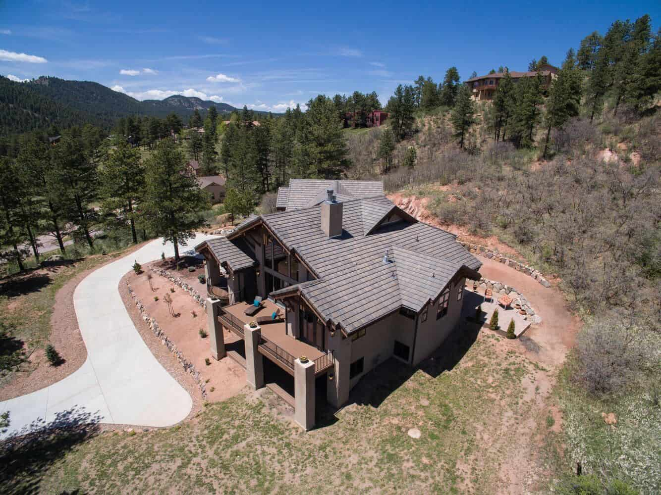 Pristine 1 Acre Lot at the Entry to Woodland Park