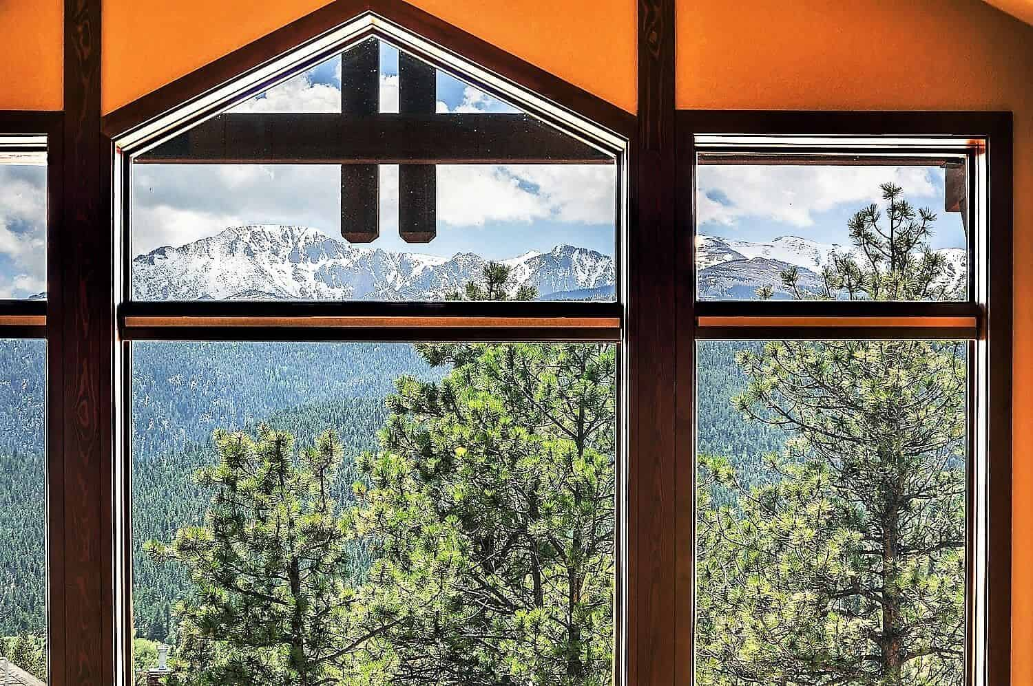 Peak Views from Great Room and Loft